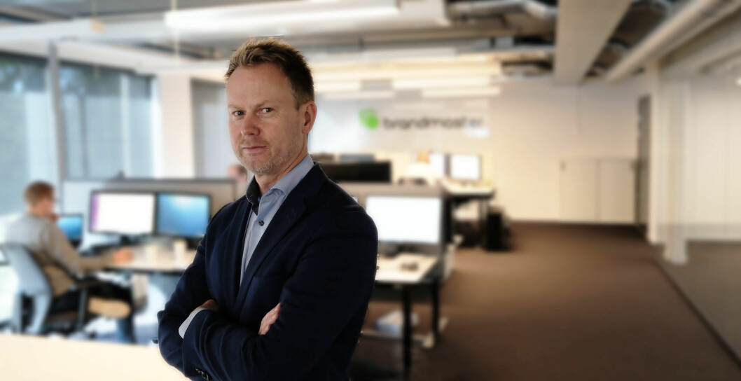 Karl Fredrik Lund tiltrådte nylig som CEO i BrandMaster.