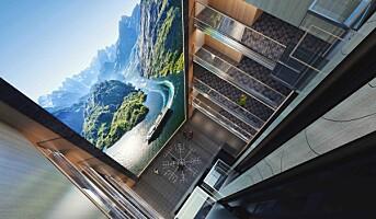 ProntoTV leverer nok en storskjerm til Hurtigruten