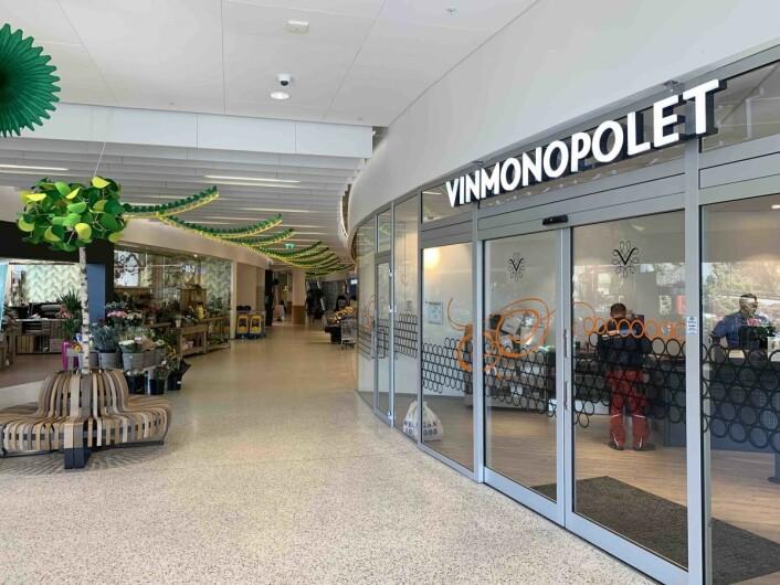 Alle kjøpesenter ønsker seg Vinmonopolet, og det har Amfi Farsund.