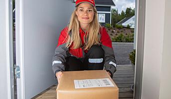 Posten leverer helt inn