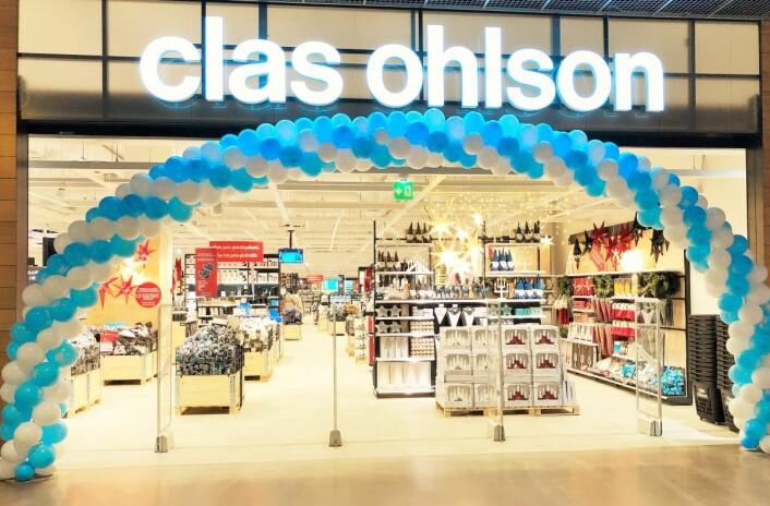 Clas Ohslons 43. butikk i Finland åpnet sammen med Mall of Tripla. (Foto: Clas Ohlson)