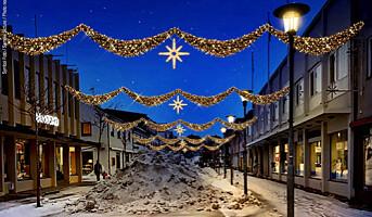 Stjerneklar julegate i Kirkenes