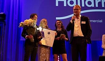 Hallarna kåret til Årets kjøpesenter i Sverige