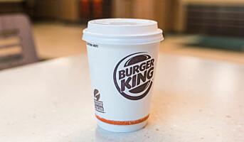 Fullsertifisert kaffe på Burger King