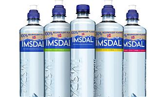 Første norske vannflaske i fullt resirkulert plast
