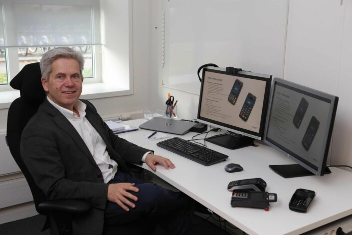 Ove Skeie, direktør for POS Products i Nets, ser for seg at vi nærmer oss en større endring i måten vi nordmenn vil betale på i fremtiden.