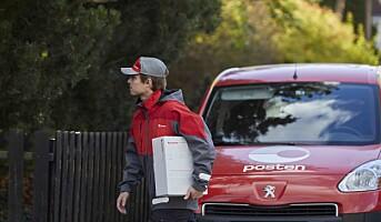 19 prosent vekst i e-handelsvolumet for Posten