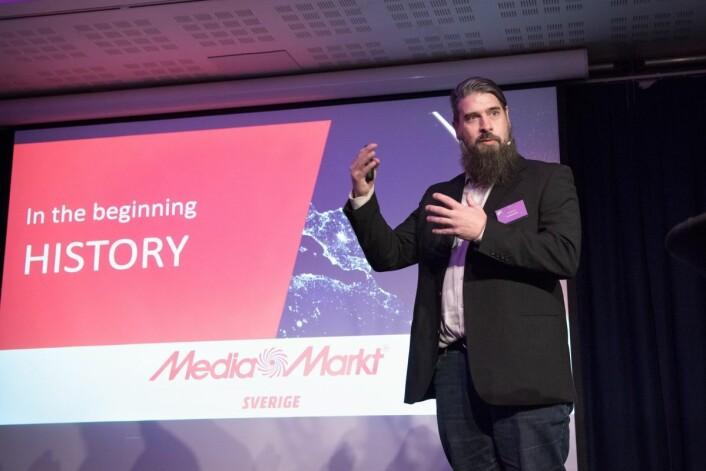 Jon Bjorne er Replenishment Team Manager i MediaMarkt Sverige.