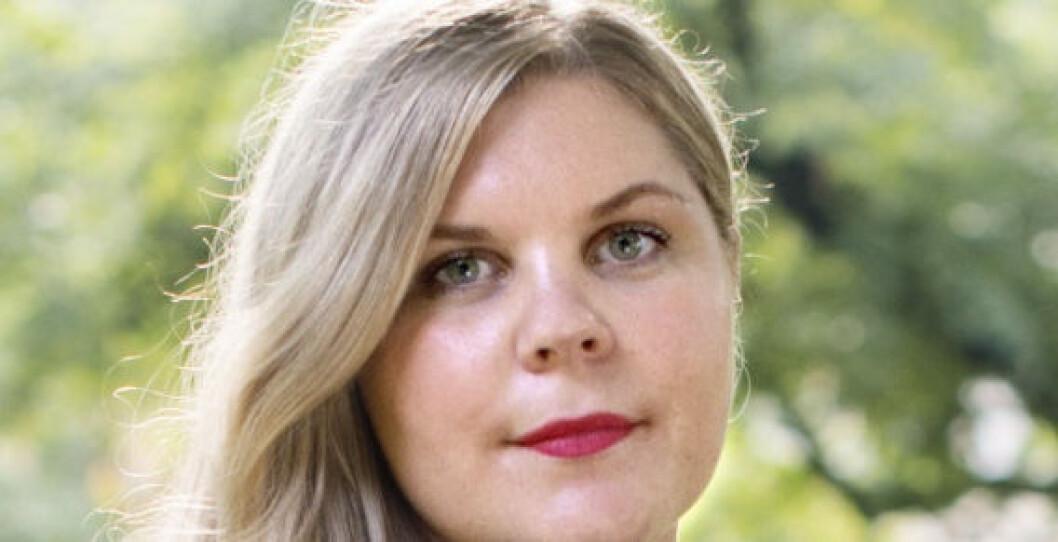 Johanna Tell, e-handelsanalytiker hos Nets