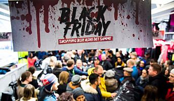 Hver 3. nordmann handler på Black Friday