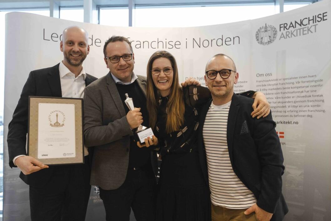 Specsavers mottok Franny Award – Årets franchisekjzede 2019. Hvem vinner for 2020?