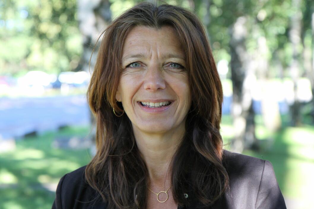 Anne-Cecilie Kaltenborn: – NHO Service og Handel etterlyser at politikerne tar problemet med den skyhøye grensehandelen på alvor. (Foto: NHO Service og Handel)