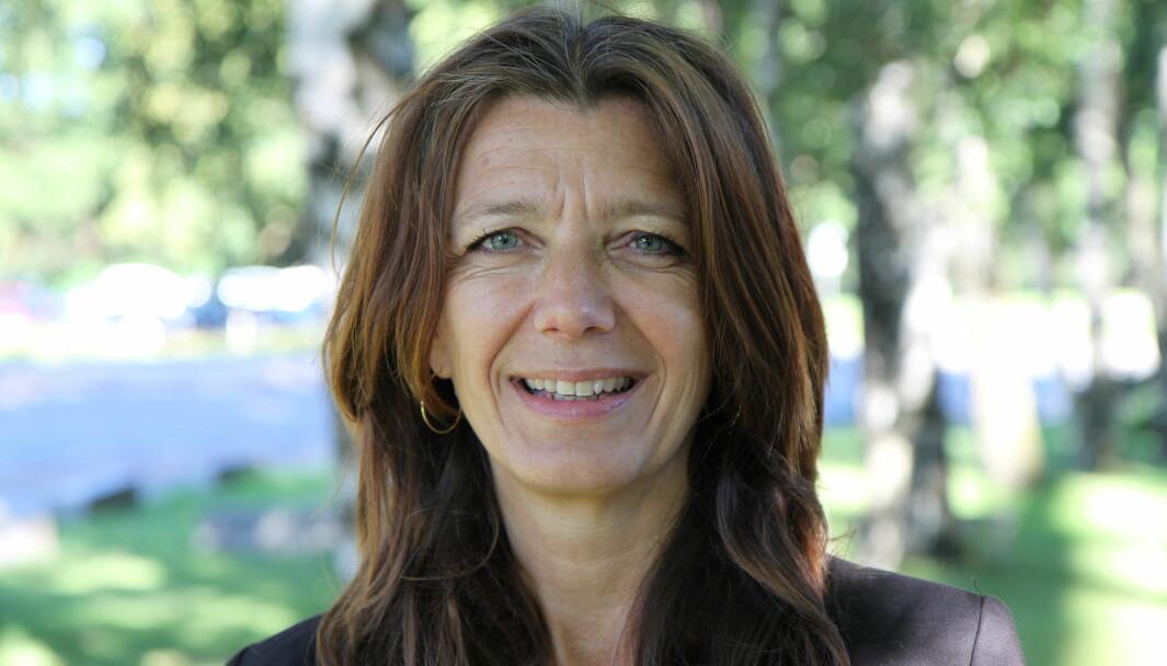 Anne-Cecilie Kaltenborn, adm. dir. i NHO Service og Handel, er glad for at kompensasjonsordningen er forlenget til oktober.