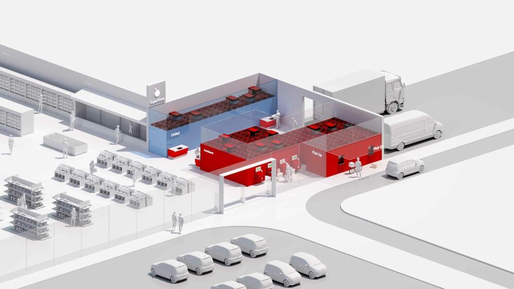 – AutoStore systemet kan levere en fleksibilitet og en skalerbarhet som kan brukes gjennom hele den logistiske prosessen varehandelen består av, sier Karl Johan Lier, adm. dir. i AutoStore.