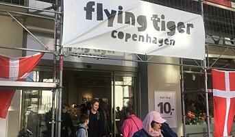 Flying Tiger avgir grønt plastløfte