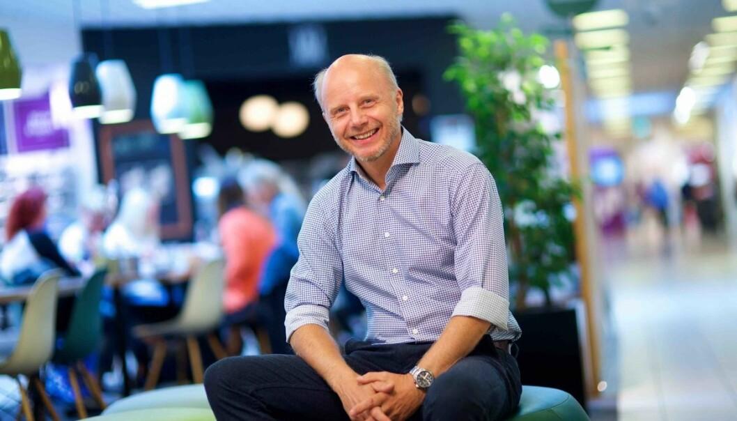 Dag Einar Solberg er senterleder på Oasen Storsenter.