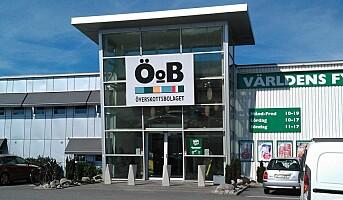 Europris kjøper 20 prosent av ÖoB for 115 millioner