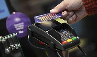 Tæpping i alle betalingsterminaler, mindre kø i kassen