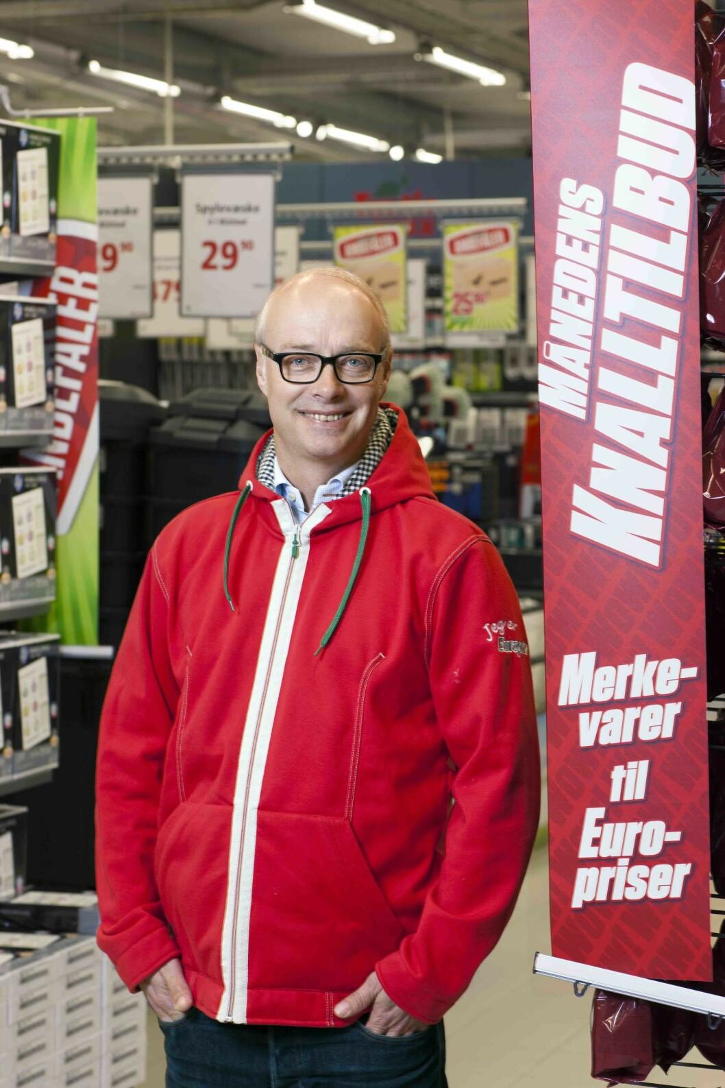 Pål Wibe går fra stilling som toppsjef i Europris til XXL.