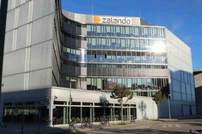 Zalandos hovedkvarter i Berlin. Foto: Ove Hansrud