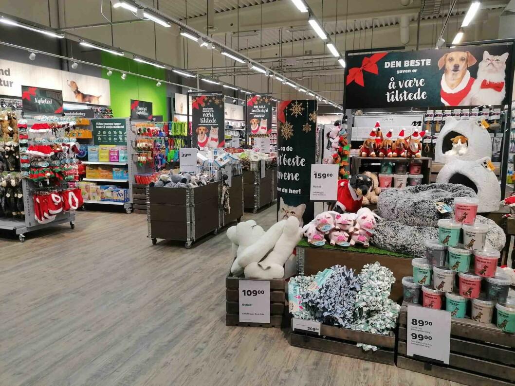 Dyrebutikk-bransjen har løftet seg, noe Mustis inntreden på det norske markedet har bidratt til. Butikken i Haugesund er lekker med godt vareutvalg.