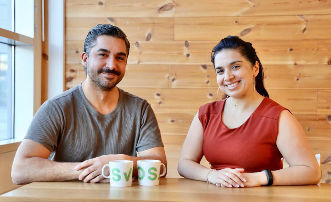 Cihan Sen og Fatima Yusuf (Foto: Svosj)