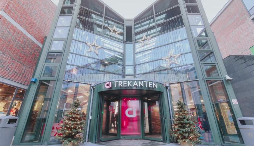 Trekanten i Asker er ett av femten kjøpesentre Citycon eier i Norge. (Foto: Citycon)