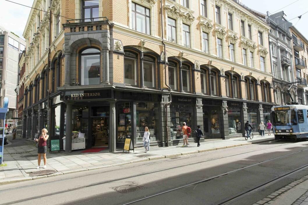 Ill. foto: Kids butikk i Pilestredet i Oslo.