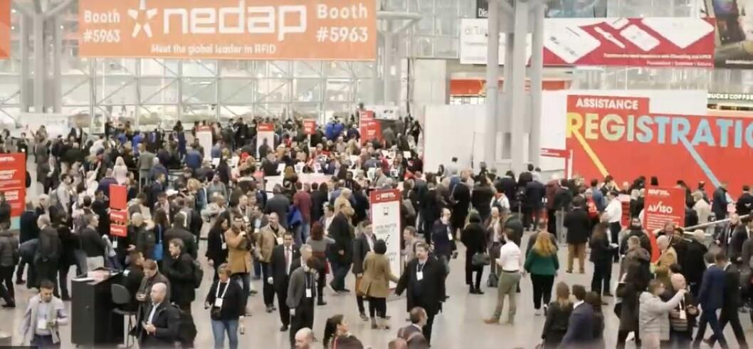 NRF i New York i januar hvert år er verdens største messe for retail. (Foto: NRF 2020)