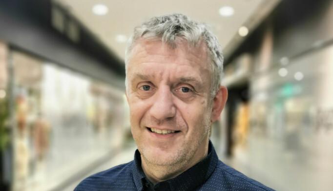 Senterleder Lars Heirsaunet.