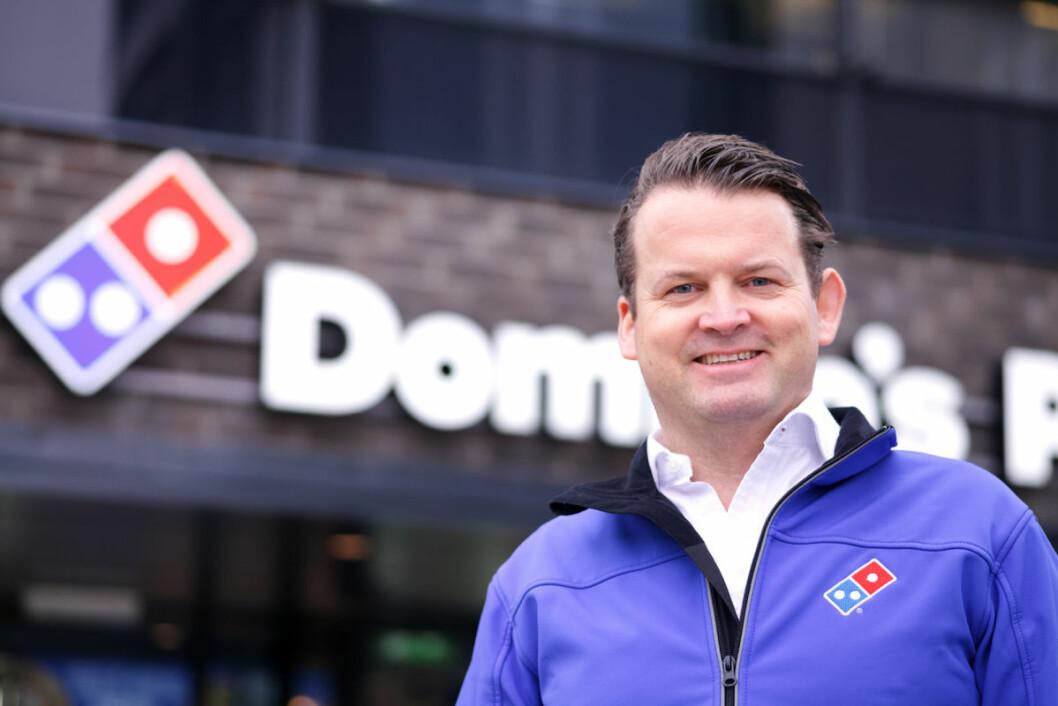 Eirik Bergh: – Oppkjøpet sikrer en gjeldfri virksomhet. (Foto: Domino's)