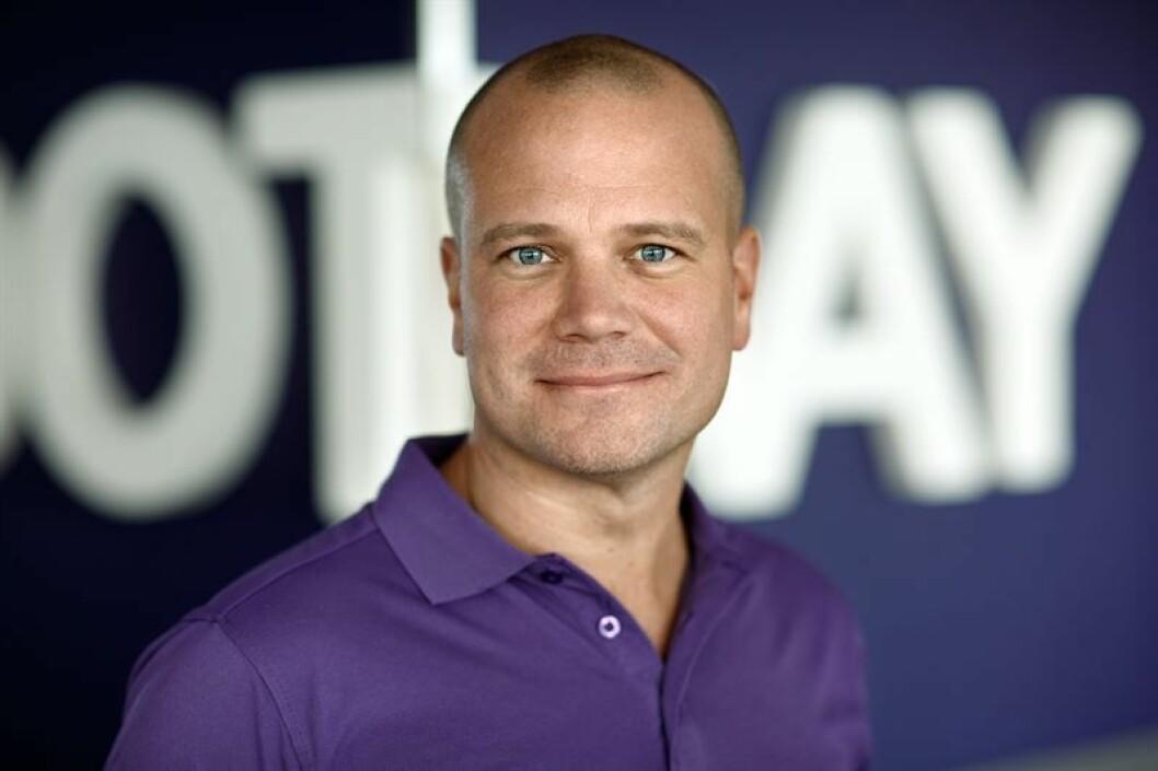 Daniel Mühlbach er VD i Footway.