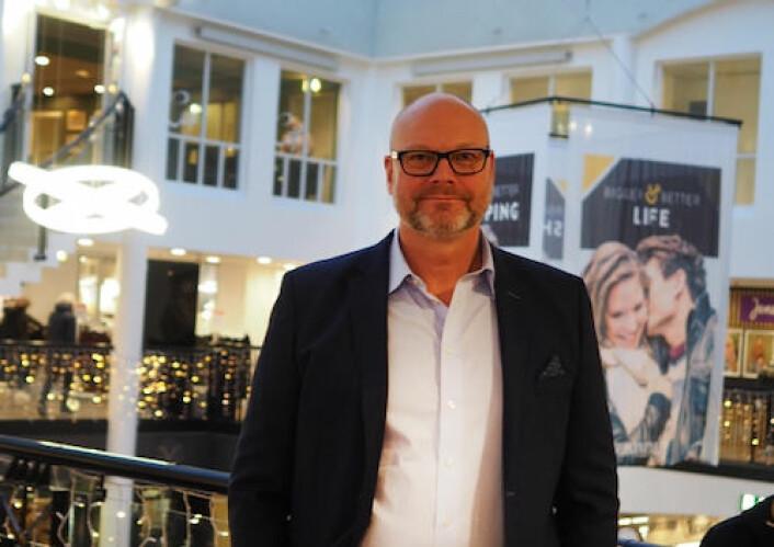 Geir Veie er eiendomssjef for Vennatrø Gruppen og senterleder for Torgkvartalet Kjøpesenter i Stjørdal i Trøndelag.