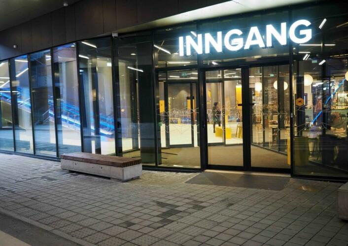 Den mest besøkte inngangen var planlagt som «utgang».