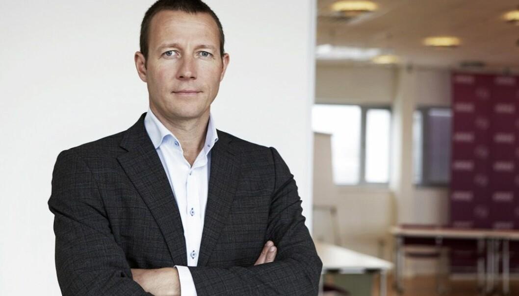Samfunnspolitisk direktør Harald J. Andersen i Virke