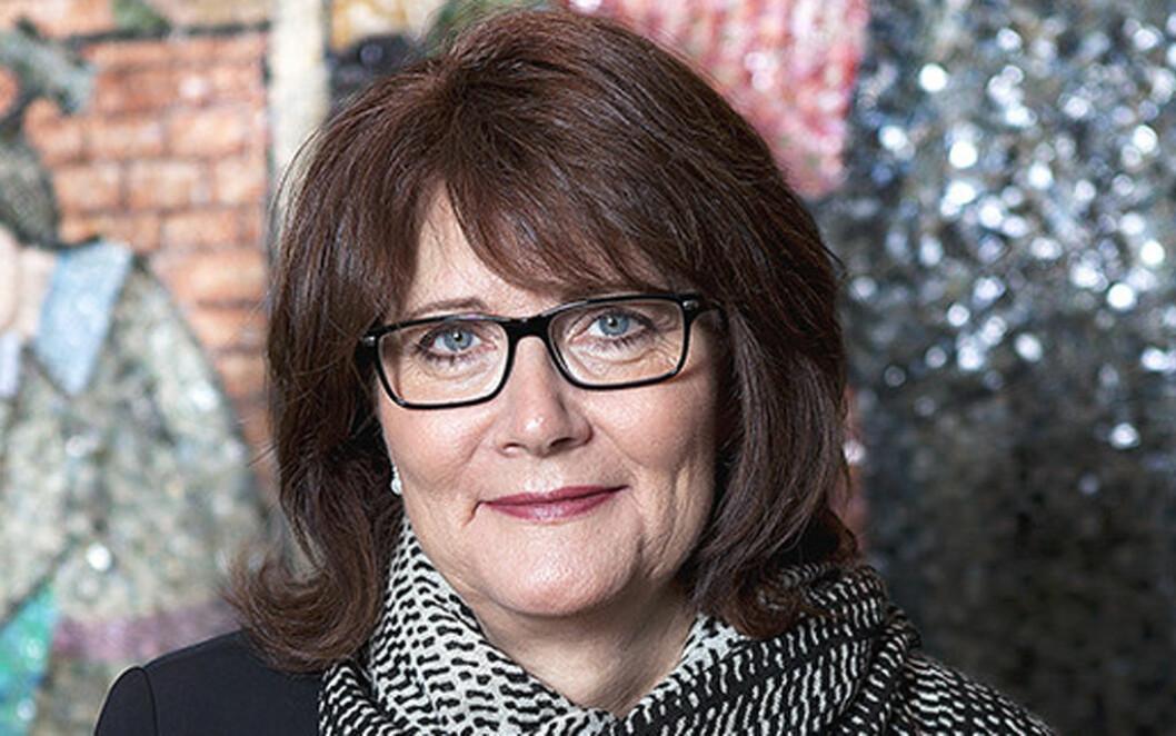 LÆRE NORDMENN: Annette Falberg i Foreningen for Dansk Internet Handel skal lære bort nettriks til norske netthandlere. Foto: Privat