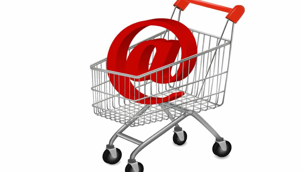 FLERE E-HANDLER: Stadig flere foretrekker å handel julegaver på nettet framfor i butikken. Foto: Colourbox