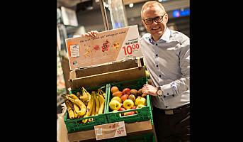 Meny reduserer svinnet med lavere pris på frukt og grønt