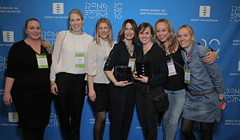 REMA 1000 tildelt designpris
