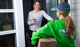 Posten klatrer på kundebaromenter