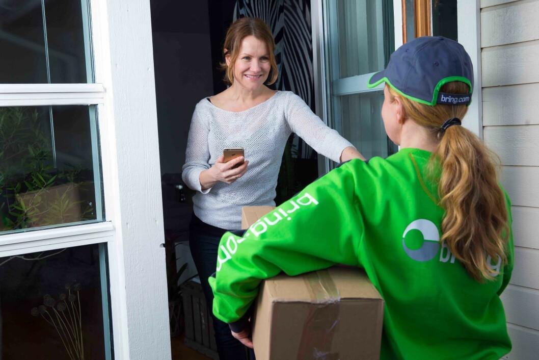 Kundenes tilfredshet med Posten og Bring øker. Foto: Håvard L. Jørstad/ Posten Norge