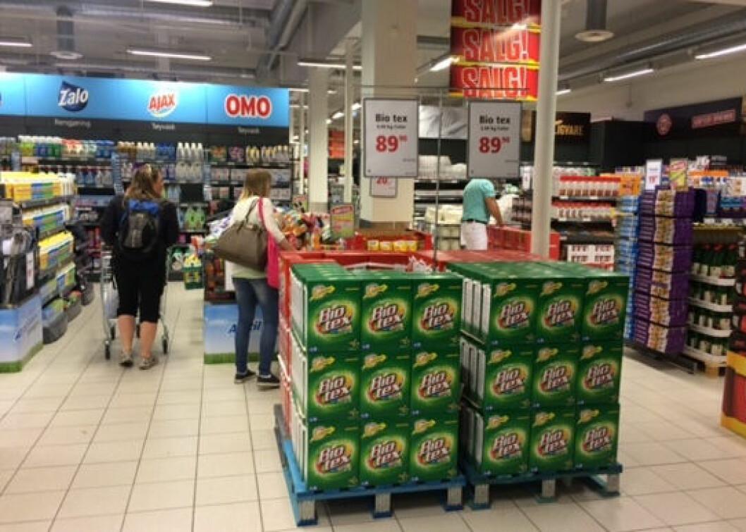 Europris' butikk på den Geilo er den første av hele fire åpninger bare i juni.