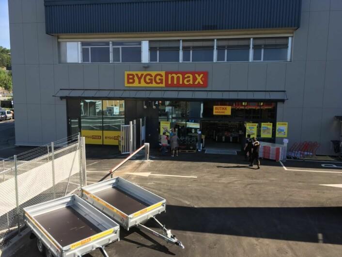 Utsalget på Midtun i Bergen er Byggmax' andre åpning i år. Foto: Byggmax