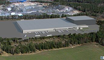Europris bygger gigantisk lager i Moss