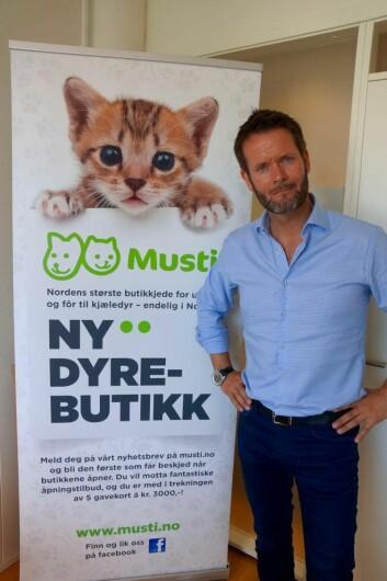 Erik Skjærstad skal lede prosessen med å bygge opp Musti på det norske markedet.