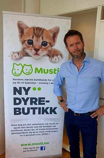 Erik Skjærstad er daglig leder i Musti.