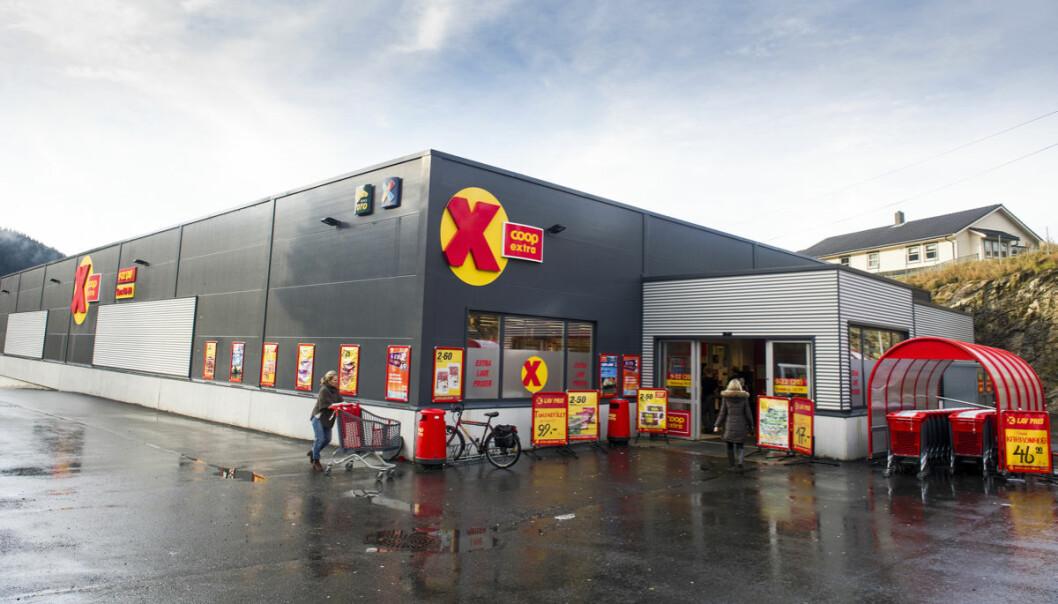 2020 vil bli stående som et ekstraordinært år for Coop og resten av norsk varehandel. Ill. foto fra Coop Extra i Fana