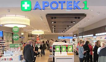 Reseptfrie medisiner på apotek1.no