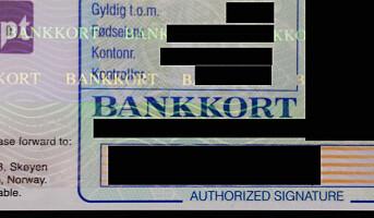 4000 kan få bankkortet sperret