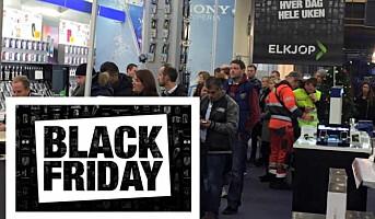 1,2 millioner vil handle på Black Friday